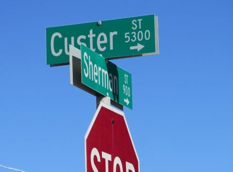 From Sherman St., make a left on Custer St., and the entrance to Project Wildlife is on the right.